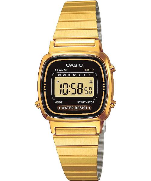 Женские часы Casio LA-670WEGA-1E casio prw 3500y 1e