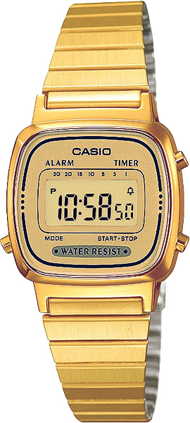 Женские часы Casio LA-670WEGA-9E