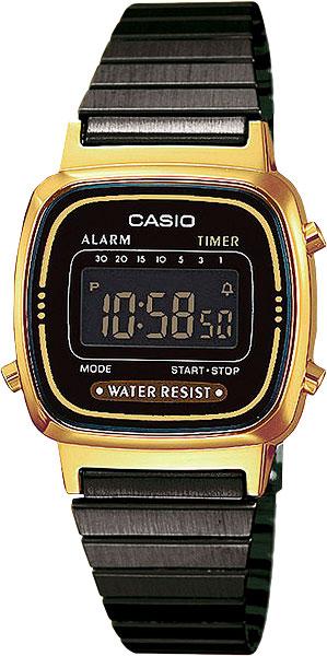 Женские часы Casio LA-670WEGB-1B casio la 670wel 1b