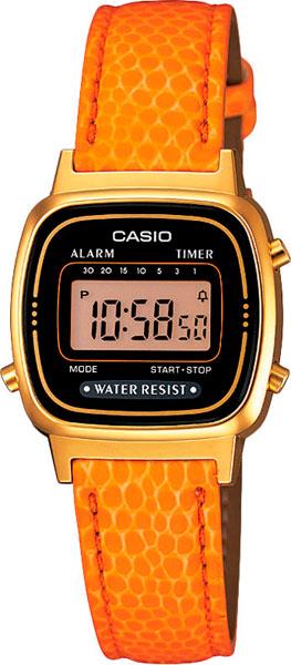 Купить Женские Часы Casio La-670Wegl-4A2