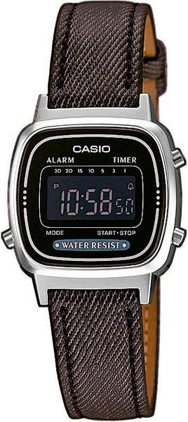Женские часы Casio LA-670WEL-1B casio la 670wel 1b