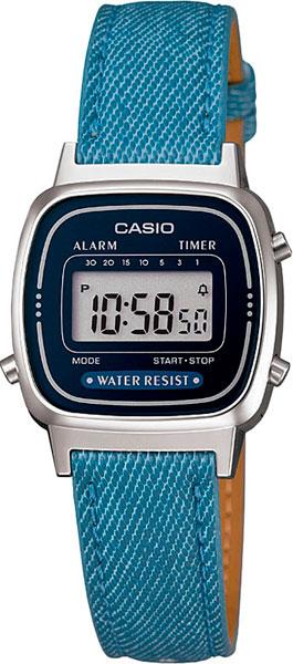 Женские часы Casio LA-670WEL-2A2 casio la 670wel 1b