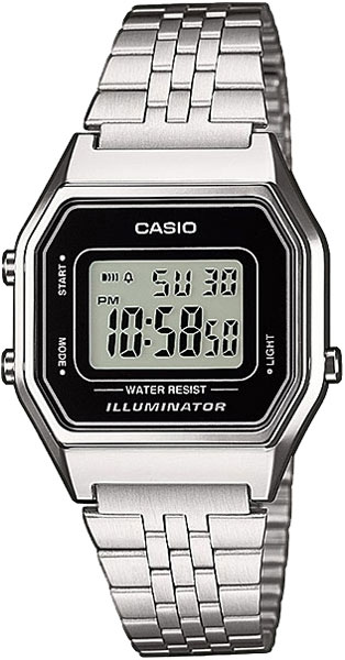 Женские часы Casio LA-680WEA-1E casio prw 3500y 1e