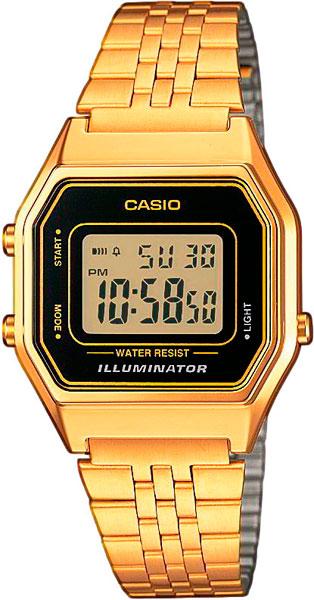 Женские часы Casio LA-680WEGA-1E casio prw 3500y 1e