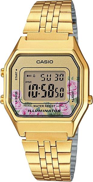 Женские часы Casio LA-680WEGA-4C цена и фото