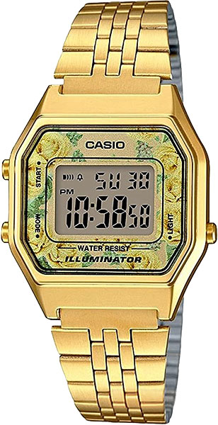Женские часы Casio LA-680WEGA-9C smeg fa390x3