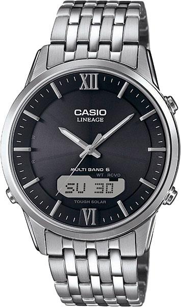 Мужские часы Casio LCW-M180D-1A мужские часы casio lcw m180d 7a