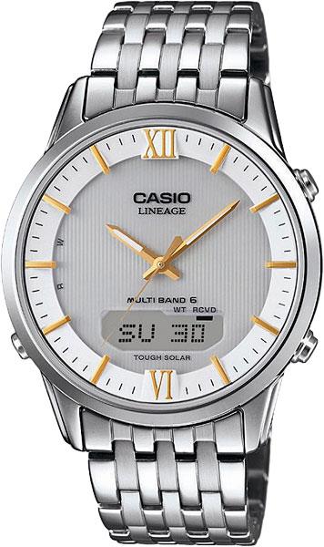 Мужские часы Casio LCW-M180D-7A мужские часы casio lcw m170d 1a