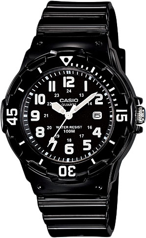 Женские часы Casio LRW-200H-1B сasio lrw 200h 1b