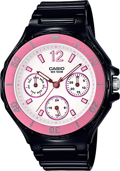 Женские часы Casio LRW-250H-1A3 casio gst w130bc 1a3