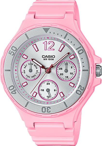 Японские женские часы в коллекции Collection Женские часы Casio LRW-250H-4A2 фото
