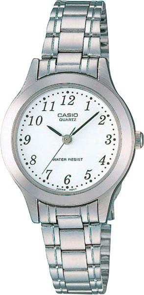 цена Женские часы Casio LTP-1128PA-7B онлайн в 2017 году