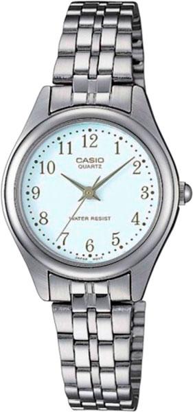 цена Женские часы Casio LTP-1129PA-7B онлайн в 2017 году