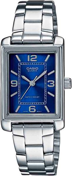 Женские часы Casio LTP-1234PD-2A casio ltp e118rl 2a