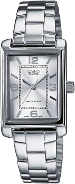 Женские часы Casio LTP-1234PD-7A casio sheen multi hand shn 3013d 7a