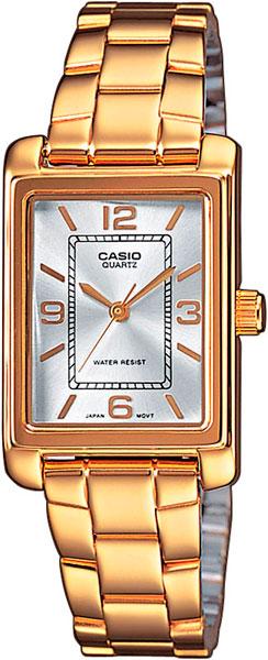 цена Женские часы Casio LTP-1234PG-7A онлайн в 2017 году