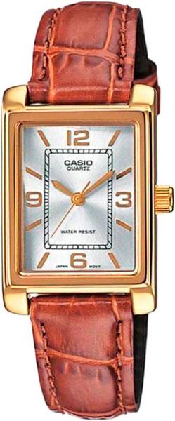 Женские часы Casio LTP-1234PGL-7A casio sheen multi hand shn 3013d 7a