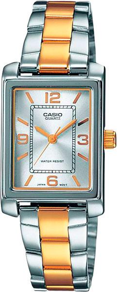 цена  Женские часы Casio LTP-1234PSG-7A  онлайн в 2017 году