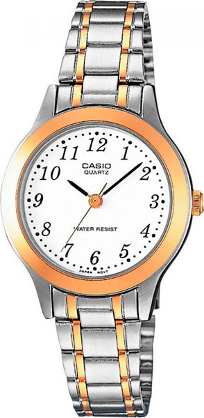 Женские часы Casio LTP-1263PG-7B casio ltp 1263pg 7b