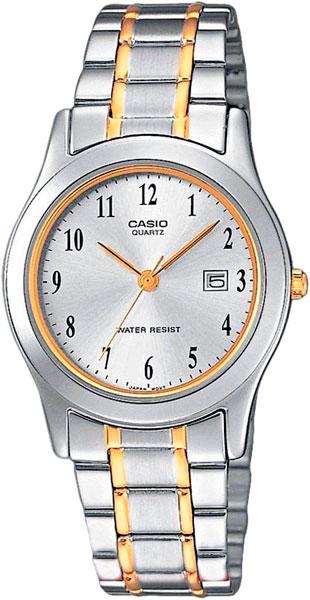 Женские часы Casio LTP-1264PG-7B casio ltp 1215a 7b2