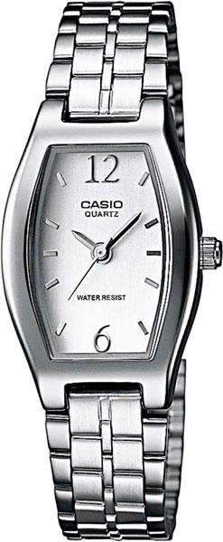 Женские часы Casio LTP-1281PD-7A серьги expression jewelry серебряные серьги пусеты запятые