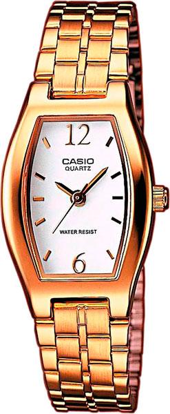 цена Женские часы Casio LTP-1281PG-7A онлайн в 2017 году
