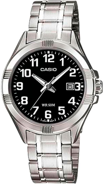 Женские часы Casio LTP-1308PD-1B casio ltp v002d 1b