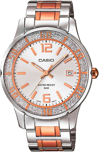 Женские часы Casio LTP-1359RG-7A casio watch fashion casual quartz needle steel watch ltp 1359rg 7a ltp 1359sg 7a