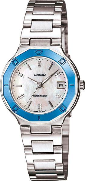 Женские часы Casio LTP-1366D-7A casio sheen multi hand shn 3013d 7a