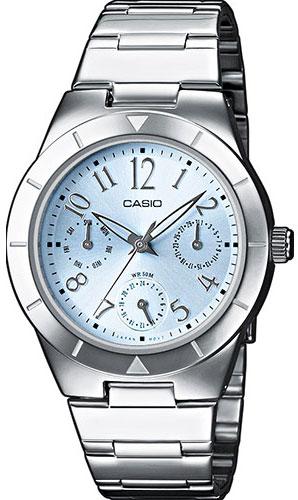 Женские часы Casio LTP-2069D-2A2 casio ltp 2069d 4a
