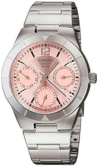 Женские часы Casio LTP-2069D-4A часы casio ltp 1391l 4a
