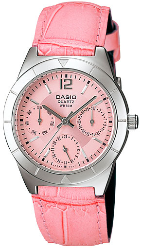 Женские часы Casio LTP-2069L-4A часы casio ltp 1391l 4a
