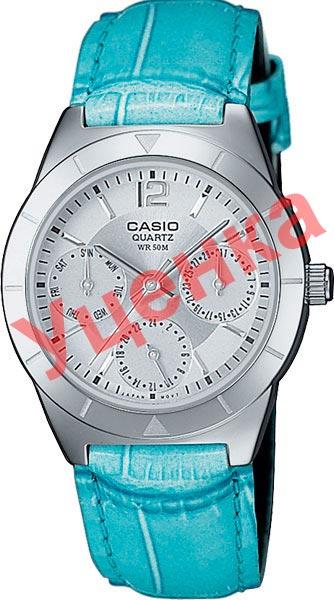 Женские часы Casio LTP-2069L-7A2-ucenka женские часы casio ltp e117g 9a ucenka