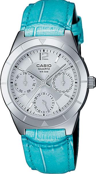 Женские часы Casio LTP-2069L-7A2 casio часы casio ltp 2069l 7a2 коллекция analog