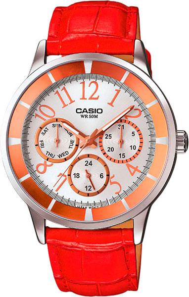 Купить Наручные часы LTP-2084L-4B1  Женские японские наручные часы в коллекции LTP на ремешке Casio