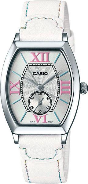 Женские часы Casio LTP-E114L-7A casio sheen multi hand shn 3013d 7a