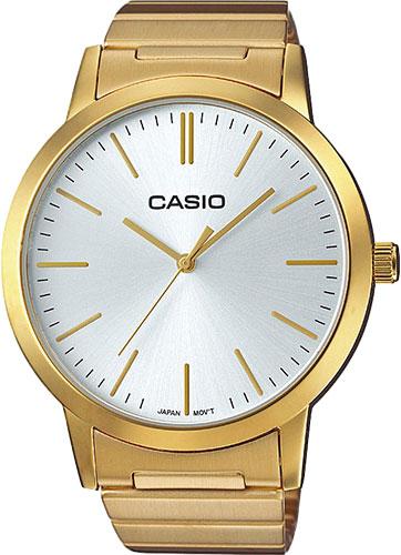 Женские часы Casio LTP-E118G-7A casio sheen multi hand shn 3013d 7a