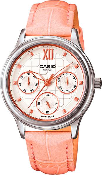 Женские часы Casio LTP-E306L-4A casio casio ltp 1363d 4a