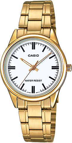 Женские часы Casio LTP-V005G-7A casio sheen multi hand shn 3013d 7a