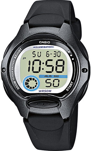 Женские часы Casio LW-200-1B цена и фото