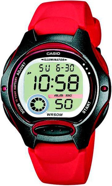 купить Женские часы Casio LW-200-4A по цене 1790 рублей