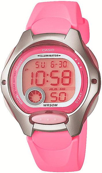 Женские часы Casio LW-200-4B цена и фото