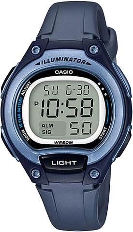 Женские часы Casio LW-203-2A женские часы casio lw 23hb 2a