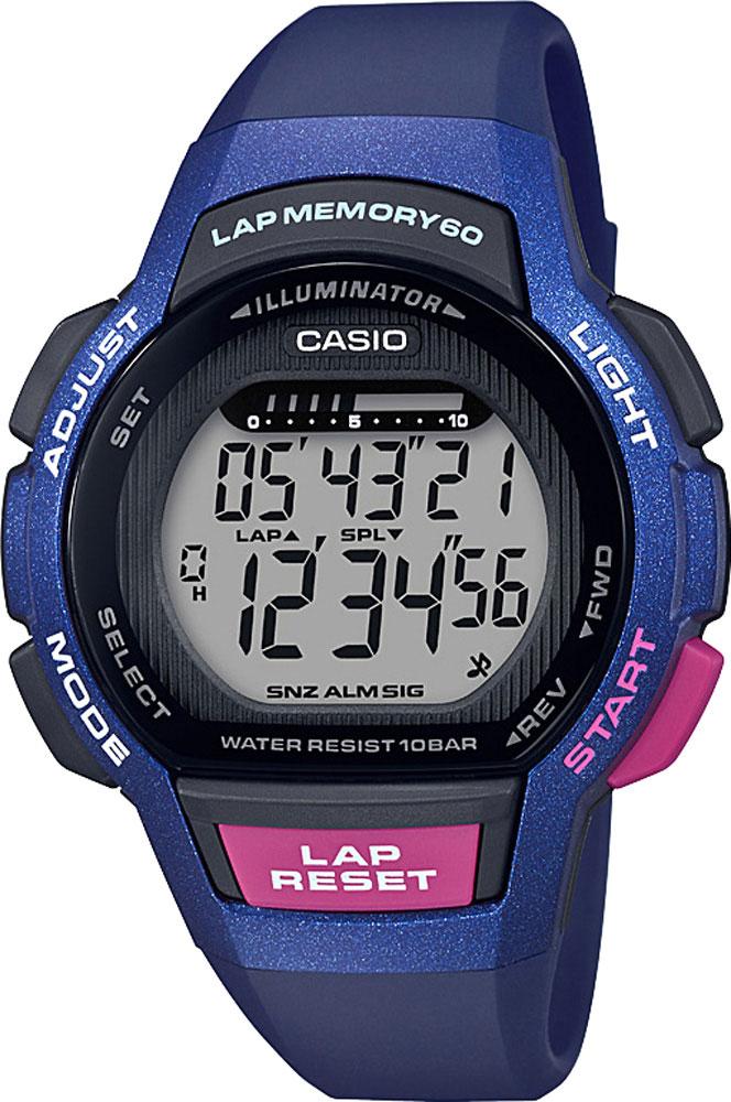 Женские часы Casio LWS-1000H-2AVEF casio casio gwn 1000h 2a