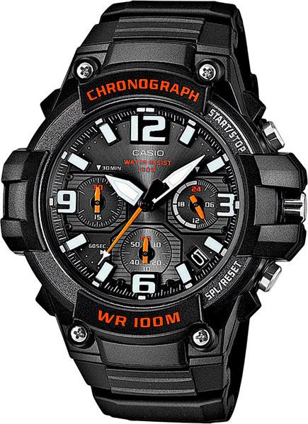 Мужские часы Casio MCW-100H-1A часы casio collection mcw 100h 3a black green
