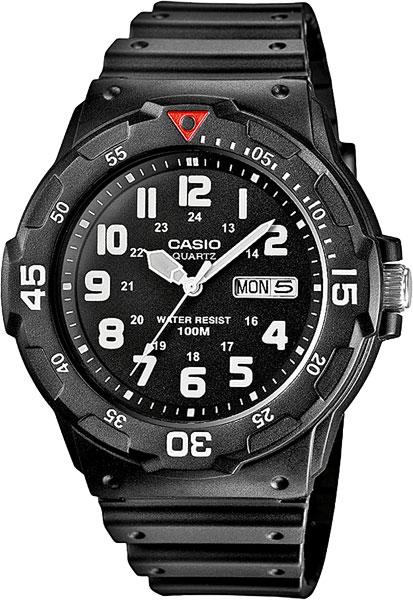 цена Мужские часы Casio MRW-200H-1B онлайн в 2017 году