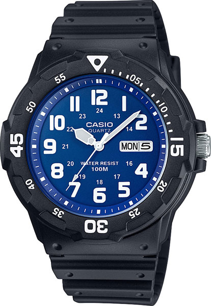 Мужские часы Casio MRW-200H-2B2 casio часы casio mrw 200h 2b2 коллекция analog