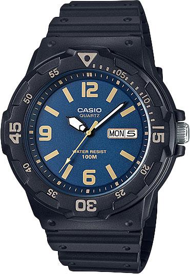 Мужские часы Casio MRW-200H-2B3 кварцевые часы casio collection mrw 200h 2b3 navy