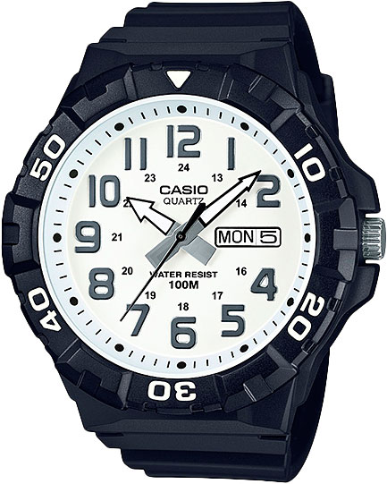 Мужские часы Casio MRW-210H-7A casio mrw 210h 1a casio