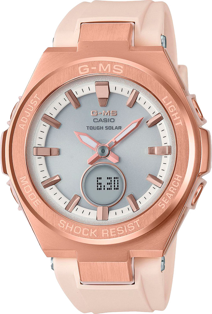 Женские часы Casio MSG-S200G-4AER наручные часы casio msg s200g 5a